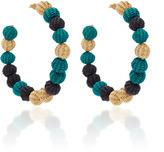 Mercedes Salazar Multicolor Hoops