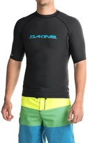 Dakine Heavy-Duty Rash Guard - UPF 50, Snug Fit, Short Sleeve (For Men)