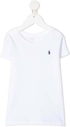 Ralph Lauren Kids embroidered-logo cotton T-Shirt