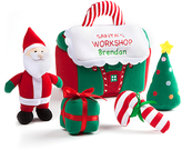 Personalized Santa Workshop Plush Activity Set