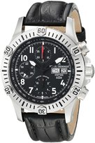 Revue Thommen 16071-6534 Men's Airspeed XLarge Pioneer Wrist Watch, Dial with Band