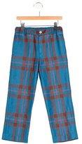 Oscar de la Renta Boys' Plaid Wool Pants w/ Tags