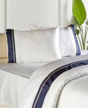 Enchante Home Sausalito 3 pieces Turkish Cotton Sateen King Duvet Cover Set Bedding