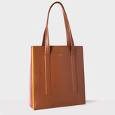 Paul Smith Women's Tan 'Concertina' Tote Bag