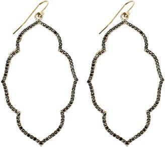 Panacea Crystal Drop Earrings
