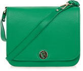Furla Melody Emerald Green Messenger Bag