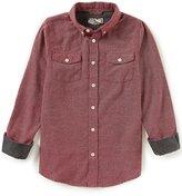 First Wave Little Boys 2T-7 Long-Sleeve Button-Down Shirt
