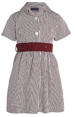 Unbranded Ashfold School Girls' Summer Dress, Maroon/White