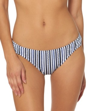 Jessica Simpson Striped Hipster Bikini Bottoms Women's Swimsuit