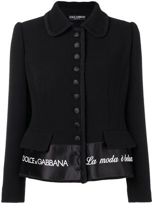 Dolce & Gabbana 'La Moda e Bellezza' blazer