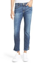 Frame Women's Le Garcon Slim Zip Hem Jeans