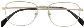 David Beckham Full-Rim Square Frame Glasses