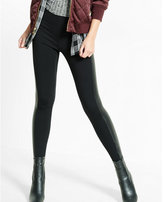 Express high waisted ponte knit scuba legging