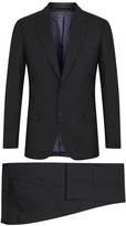 Paul Smith London Mayfair Charcoal Wool Travel Suit