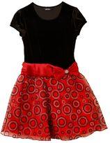 Amy Byer Iz drop-waist circle dress - toddler