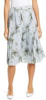 Ted Baker Estie Highland Pleated Jersey Skirt