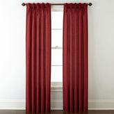 Royal Velvet Encore Pinch-Pleat/Back-Tab Curtain Panel