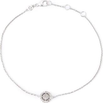 Astley Clarke 14kt white gold mini Icon Aura diamond bracelet