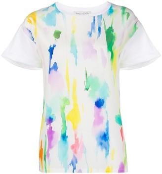 Être Cécile paint print T-shirt