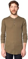 American Apparel Baby Thermal Long Sleeve Henley