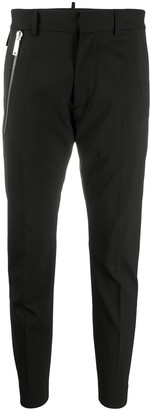 DSQUARED2 Zipped Pocket Cropped Trousers