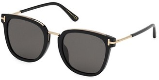 Tom Ford 56MM Square Sunglasses