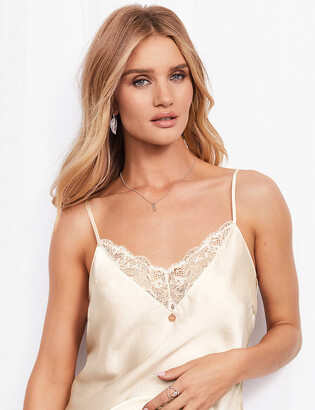 Marks and Spencer Silk & Lace Camisole