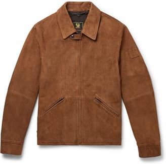 Belstaff Cooper Suede Blouson Jacket