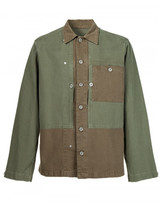 Maison Margiela panelled shirt jacket