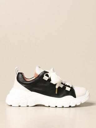 Elisabetta Franchi Sneakers In Leather