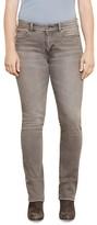 Lauren Ralph Lauren Plus Straight Cut Jeans in Concrete Wash