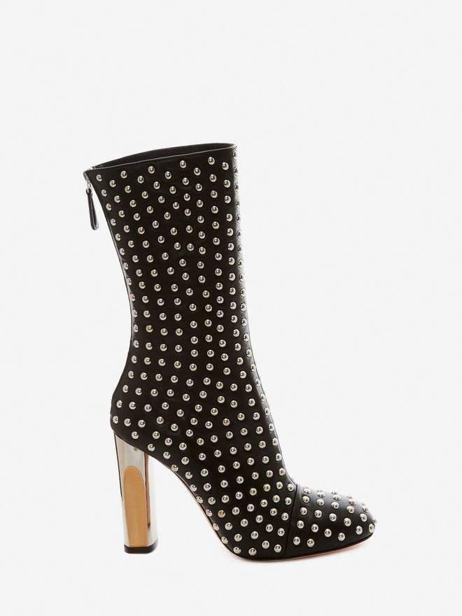 Alexander McQueen Sculpted Heel Boot
