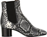 Isabel Marant Women's Python-Stamped Danae Boots-GREY
