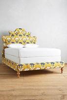 Anthropologie Fan-Woven Ainsworth Bed