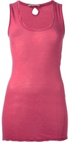 Humanoid fitted vest top