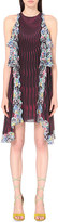 Mary Katrantzou Snuffbox-print silk dress