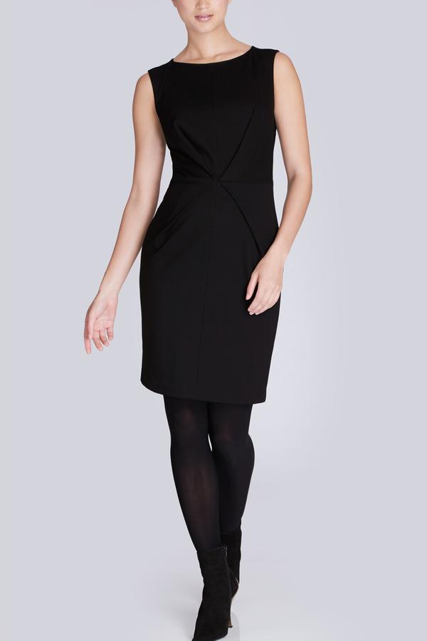 Josie Natori Ponte Sleeveless Dress