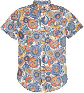 Onia Jack Printed Linen Shirt