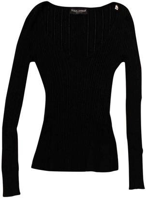 Dolce & Gabbana Black Cotton Knitwear for Women