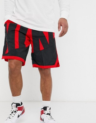 Nike Basketball throwback shorts in red