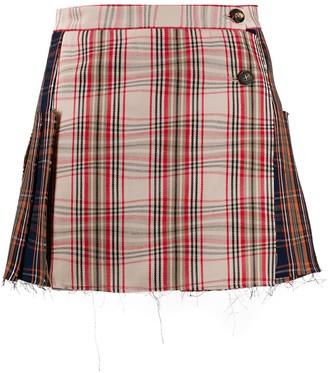 Vivienne Westwood Tartan Pattern Skirt