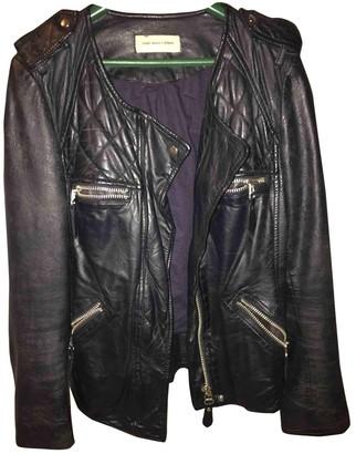 Isabel Marant Black Leather Leather Jacket for Women
