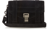 Proenza Schouler PS1 mini suede cross-body bag