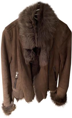 Ventcouvert Brown Suede Coats