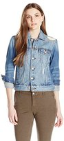 Lucky Brand Women's Legend Shashiko Classic Denim Jacket