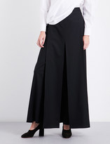 Chalayan Wide-leg wool trousers