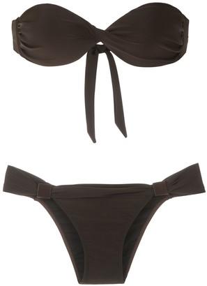 Adriana Degreas Bandeau Bikini Set