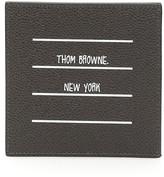 Thom Browne 4-bar Label Cardholder