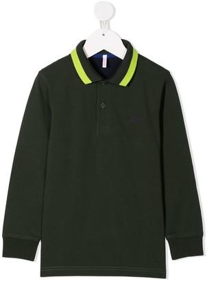 Sun 68 Long Sleeve Polo Shirt