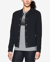 Under Armour Varsity Fleece Bomber Jacket